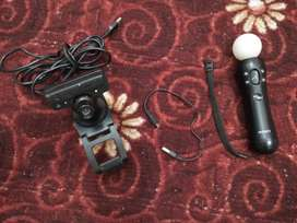 SONY PS3 Eye Camera + Ps3 / Ps4 MOVE Motion Controller - Free Delivery