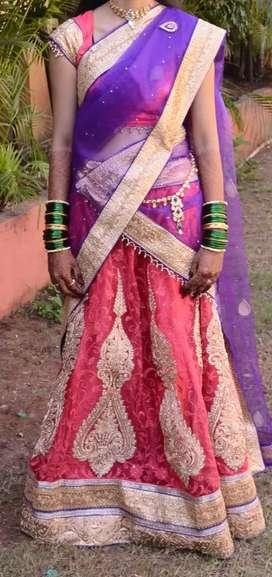 Marriage Designer lehnga