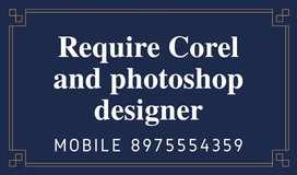 Graphics designer vacancy