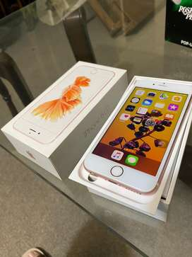 Iphone 6s rose gold 64gb with box Pta Approved