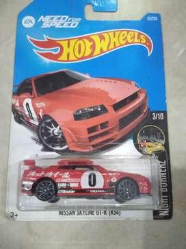 Hotwheels Nissan Skylinne Gt-r (R34)