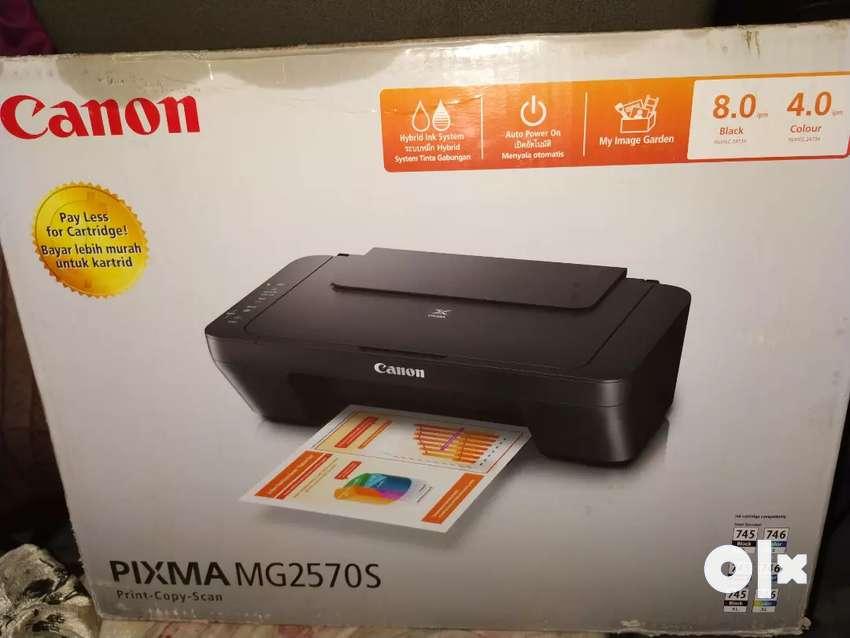 Canon PIXMA MG 2570S PRINTER 0