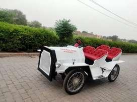 Battery Vintage Car