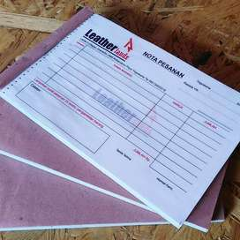 Cetak Nota Invoice Kuitansi Murah - Dairi Kab.
