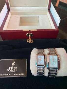 JBR watch- PAIR - Swiss made.