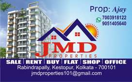 Kestopur all type flat/house Rent available ready to move
