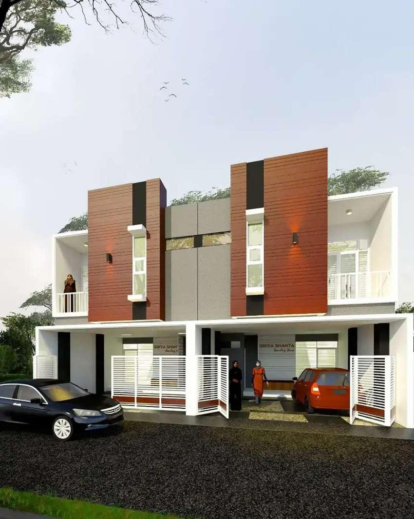 Rumah kos eksklusif dekat dengan kampus dan bisnis kota