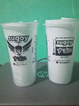 Sablon Cup, Sablon Lid Sealer, Sablon Plastik