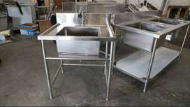 Meja Sink Stainless Steel Tahan Karat Harga Murah