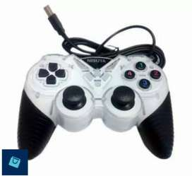 18. Nisuta GP013 gamepad turbo single USB dual-shock