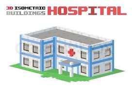 HOSPITAL BUILDING RM COLONY MAIN ROAD