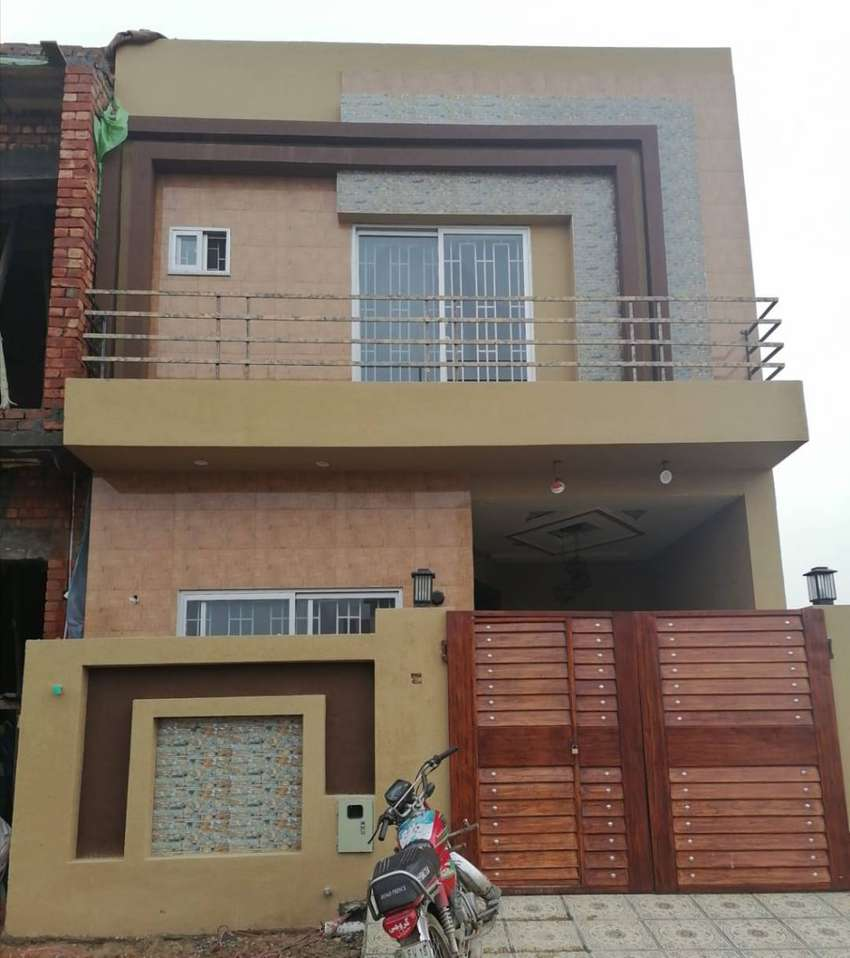 3 Marla Brand New House For Sale In Al-Kabir Town - Phase 2 - Block B 0