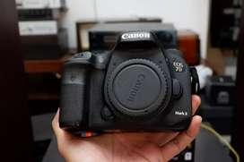 Canon 7d mark ii BO Ex DS mulus lengkap