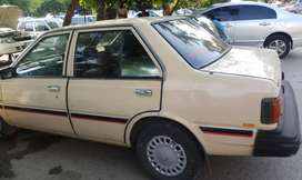 Nissan sunny 1983 model in good condition is for sale