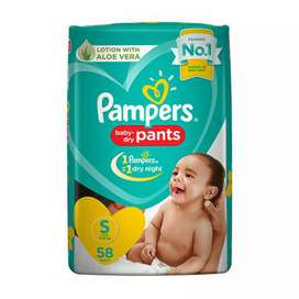 Pampers pack of 58 (small)