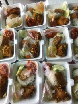 [10rb] Nasi Ayam Kalasan Paket sedekah Lengkap Dijamin Enak
