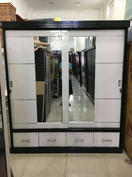 Mjb mebel - promo lemari kayu stainless 2pt jumbow best price
