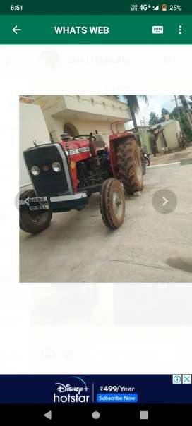 Tractor and trolley ,  caltivstor