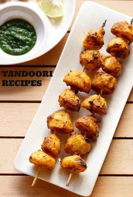 Cook of tandoor items urgently required.