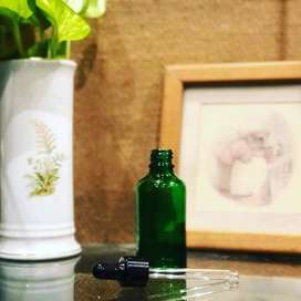 Empty Glass Dropper Bottles Essential Oils Aromatherapy Liquid