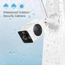 Night Vision Waterproof Ip Camera Double Antenna - Fv-R380
