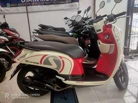 +-Honda Scoopy Cream Merah