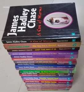 James Hardy Case collection of books