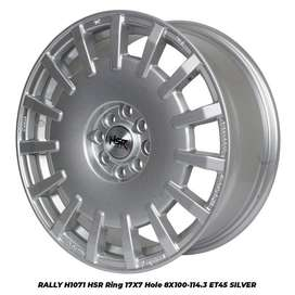 pelek RALLY H1071 HSR R17X7 H8X100-114,3 ET45 SILVER