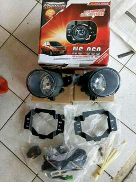 Foglamp/Lampu Kabut Nissan March 2010dst Include Instalasi