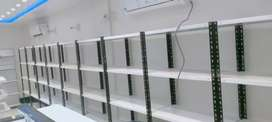 Display Shelving, complete mart solution, pharmacy, super store,