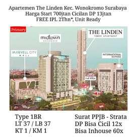 Apartemen Linden Ngagel Pusat Kota Strategis Siap Huni Cicilan Ringan