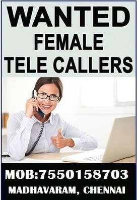 Telecaller - Female, Urgent requirement