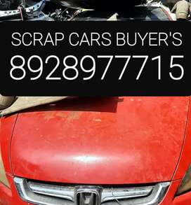 We buy scarp cars with proper papper work done