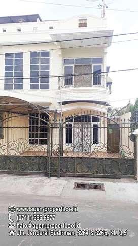 Disewakan Townhouse Jln Sikatan Rajawali Palembang
