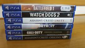 Play station 4/ Ps4 games for sale