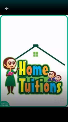 Home Tutor Available for 1st to 10th Standerd all Subject