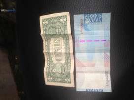 Uang 1 dolar special