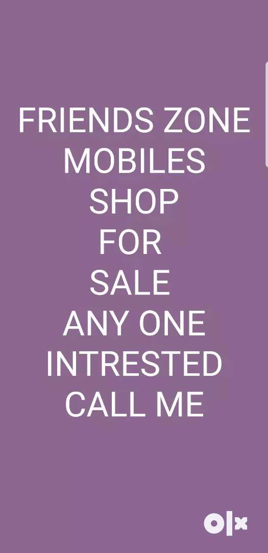 Mobile shop for sale  call me for more information 0