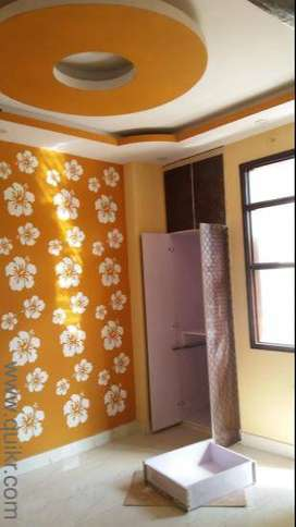 One bedroom ,Drawing room with fall ceiling and texture paint 90%loan