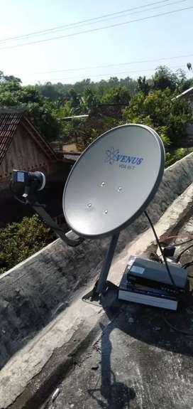 Antena Parabola Ngaliyan Bebas Berlangganan
