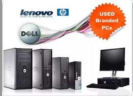 Dell / HP / Lenovo Branded Refurbished / 1 Year Warranty