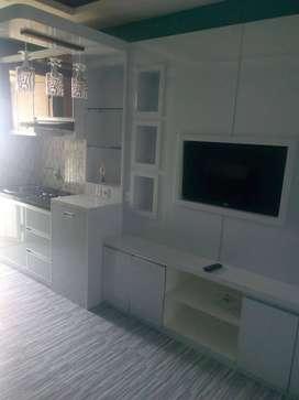 Menerima Jasa Interior Unit Apartemen Paket Full Furnished