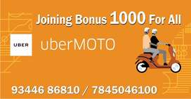 Huge openings for Bike Taxi - Uber Moto Chennai