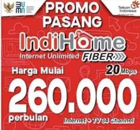 INDIHOME INTERNET PROMO HITAM HIJAU