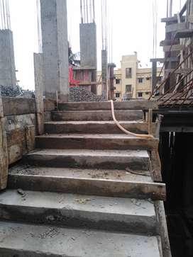 Sale 2 bhk flat in near Shyamnagar railway station