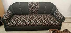 7 seater sofa with couch and center table