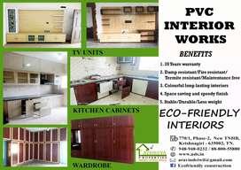 Pvc interior work