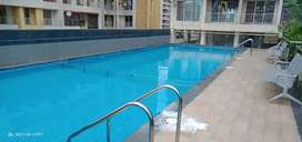 2 bhk  flat, all amenities like swimming pool gym garden etc