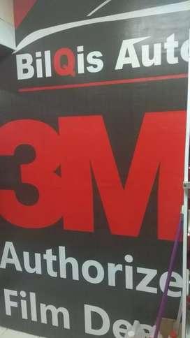 Kaca film Masterpiece garansi 7, kaca film 3M garansi 5 tahun