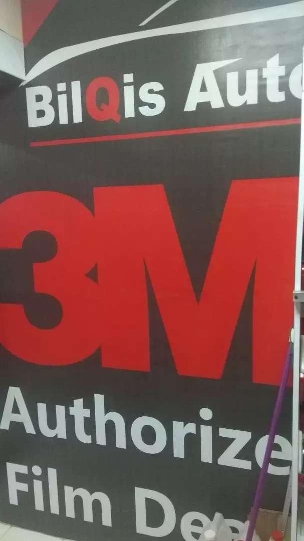 Kaca film Masterpiece garansi 7, kaca film 3M garansi 5 tahun 0
